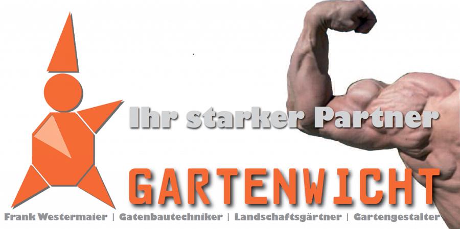 Ihr Starker Partner - Firma Gartenwicht in Mering, Augsburg, München, Gartenbauer und Landschaftsgärtner, Hier unser neuer Flyer. Wir gestalten Ihre Neuanlage oder Ihren Alten Garten. Der Gartenwicht ist Ihr Profi Gartenbauer. rufen Sie uns an!